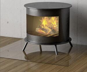 zaštitno staklo ispod peći